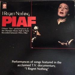 Edith Piaf - I Regret...